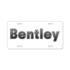 Bentley Metal Aluminum License Plate