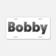 Bobby Metal Aluminum License Plate