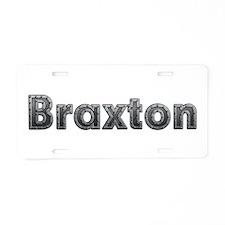 Braxton Metal Aluminum License Plate