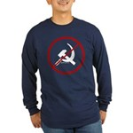 Sickle & Hammer No Communists Long Sleeve Dark T-S