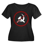 Sickle & Hammer No Communists Women's Plus Size Sc
