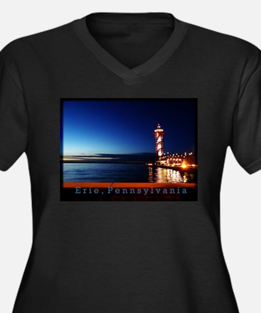 Dobbins Landing at Twilight Plus Size T-Shirt