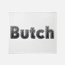 Butch Metal Throw Blanket