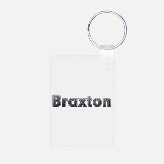 Braxton Metal Aluminum Keychain