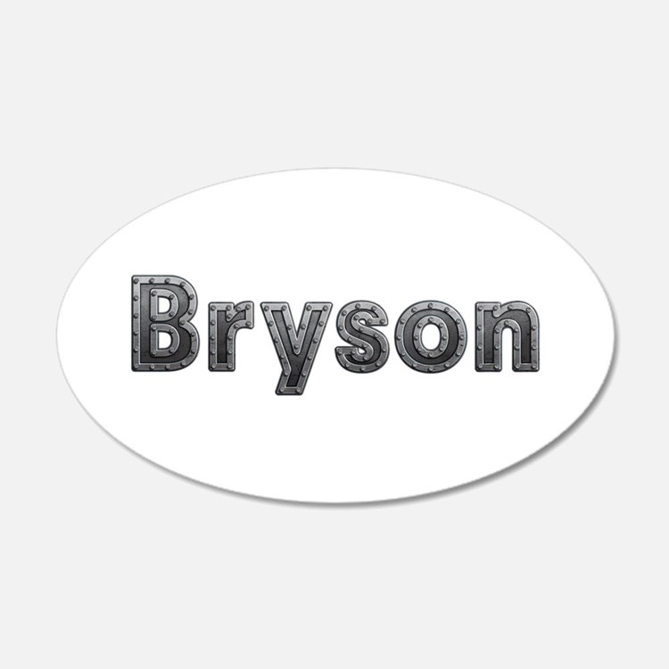 Bryson Metal Wall Decal