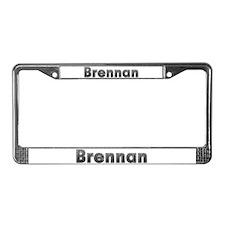Brennan Metal License Plate Frame