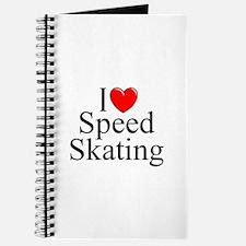 """""""I Love (Heart) Speed Skating"""" Journal"""