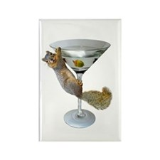 Martini Squirrel Magnets
