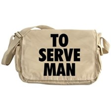 Cute Man Messenger Bag