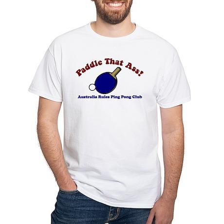 Ping Pong White T-Shirt