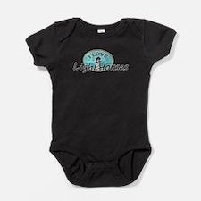 I Love Lighthouses Baby Bodysuit