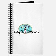 I Love Lighthouses Journal