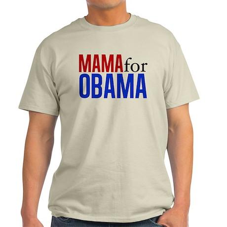 Mama for Obama Light T-Shirt