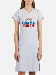 Obama Rainbow Women's Nightshirt