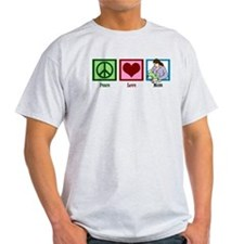 Peace Love Mom T-Shirt