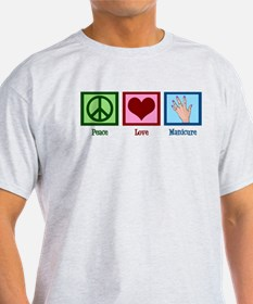 Peace Love Manicure T-Shirt