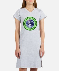 Earth Day Women's Nightshirt