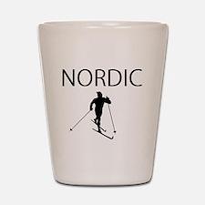 NORDIC SKI Shot Glass