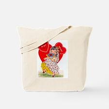 RetroValentine Senorita Tote Bag