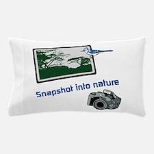Snapshot Into Nature Pillow Case