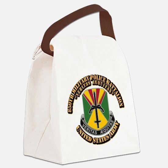 DUI - 850th Military Police Batta Canvas Lunch Bag