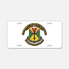 DUI - 850th Military Police Aluminum License Plate