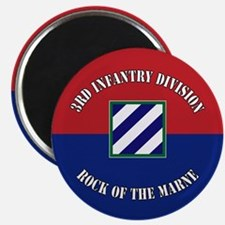3ID Rock of The Marne Flag Magnet