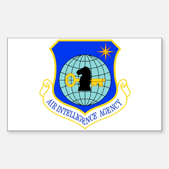 Air Intelligence Agency Sticker (Rectangle)