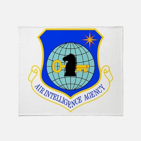 Air Intelligence Agency Throw Blanket