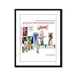 Huckabee Libido Framed Panel Print