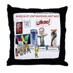 Huckabee Libido Throw Pillow