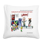Huckabee Libido Square Canvas Pillow