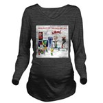 Huckabee Libido Long Sleeve Maternity T-Shirt