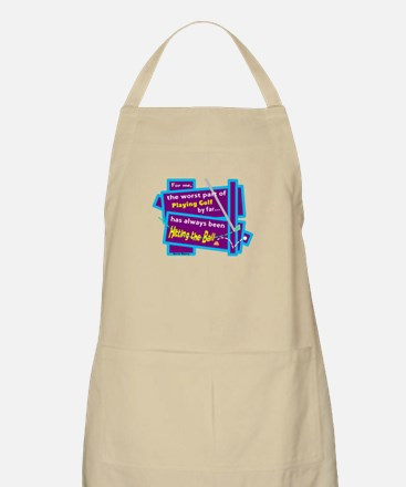 Hitting The Ball/Dave Barry Apron