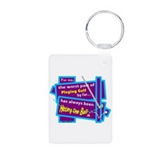 Hitting The Ball/Dave Barry Keychains