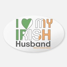 I Love My Irish Husband Decal