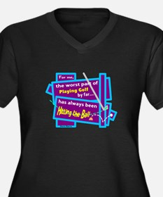 Hitting The Ball/Dave Barry Plus Size T-Shirt