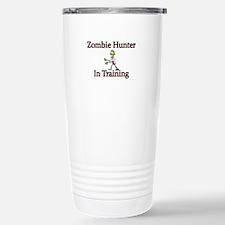 Zombie Hunter in Training Travel Mug