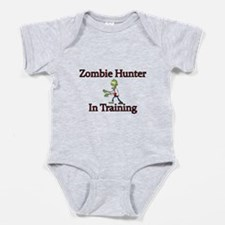 Zombie Hunter In Training Baby Bodysuit