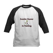 Zombie Hunter in Training Baseball Jersey