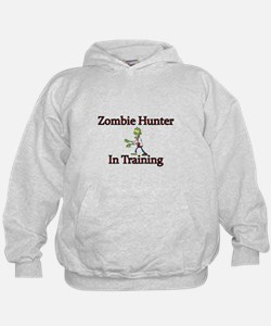 Zombie Hunter in Training Hoodie