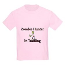 Zombie Hunter In Training T-Shirt