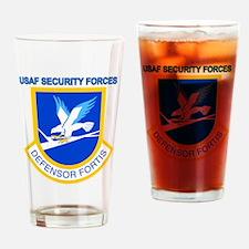 Defensor Fortis Drinking Glass