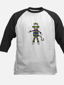 Mardi Gras Sock Monkey Baseball Jersey