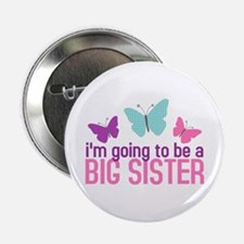 butterfly big sister to be Button