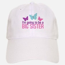 butterfly big sister to be Baseball Baseball Cap