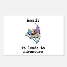 Read: It Leads to Adventure Postcards (Package of