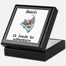 Read: It Leads to Adventure Keepsake Box