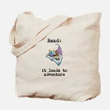 Read: It Leads to Adventure Tote Bag