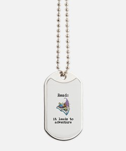 Read: It Leads to Adventure Dog Tags